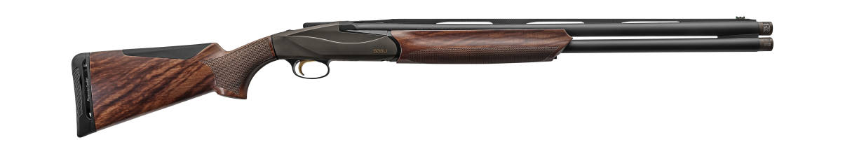 828 U Upland Performance Shop Shotgun - AA-Grade Satin Walnut stock finish - Bronze Anodized Receiver - 12 gauge - item number 10700