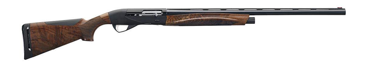 ETHOS Shotgun - AA-Grade Satin Walnut stock finish - Anodized receiver - 12 gauge - item number 10451
